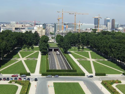 view from the Triumphal Arch