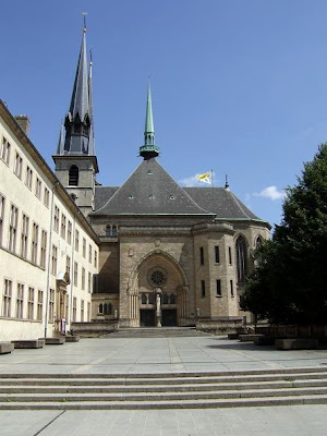 exterior of the cathedral