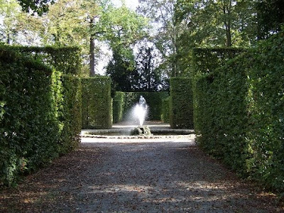 fountain in Schwetzingen