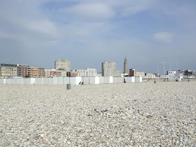 Beach of Le Havre