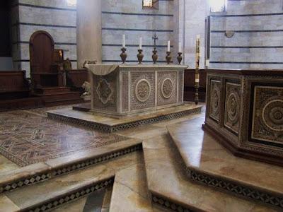 Guido Bigarelli's baptismal font