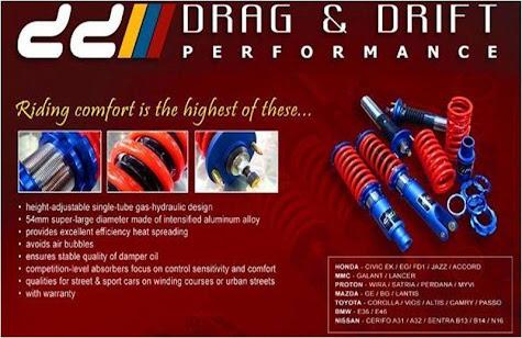 DRAG & DRIFT Suspension DEALER