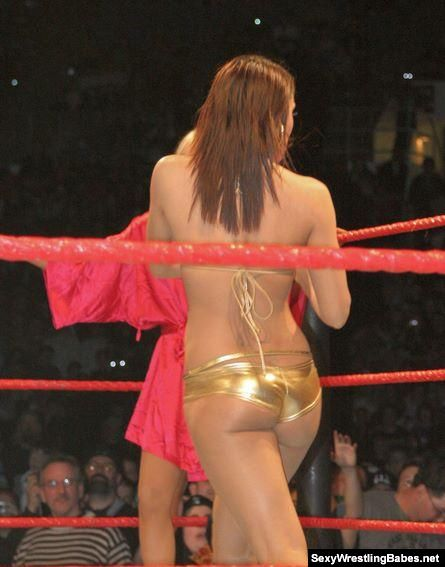 wwe layla ass slap