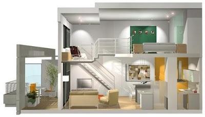 Planos de casas y departamentos for Para alquilar habitaciones