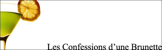 Les Confessions d'une Brunette