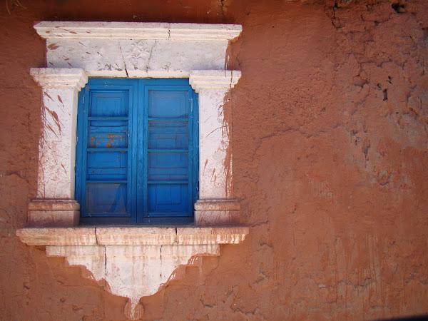Una ventana para imaginar un mundo menos real...