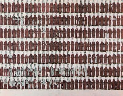 210 coca cola bottles warhol