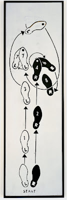 'Dance Diagram 5. Foxtrot: The Right-turn Man warhol