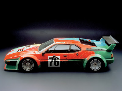 bmw art car warhol