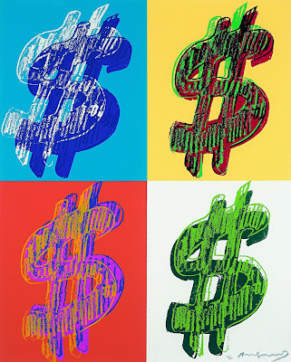 quadrant dollar sign warhol