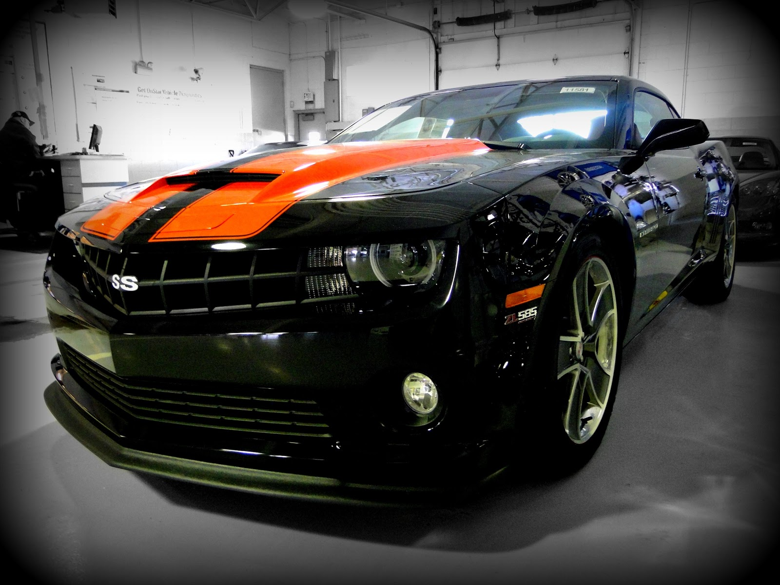 New supercharged 2011 Chevrolet Camaro 2SS SLP 585 hp