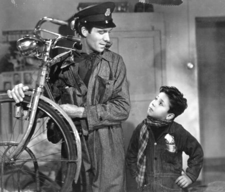 bicycle thief Though not the first italian neo-realist film seen outside of italy (or even vittorio de sica's first neo-realist work), the bicycle thief (1948) is considered the seminal film of the movement, alongside roberto rossellini's rome, open city (1945).