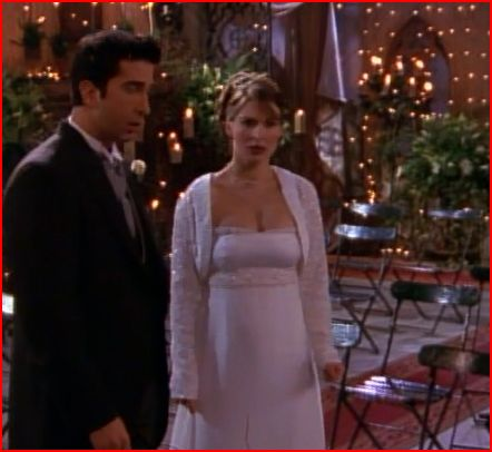 The One With All the Snark: TOW: Ross\'s Wedding