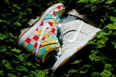 Nike patchwork