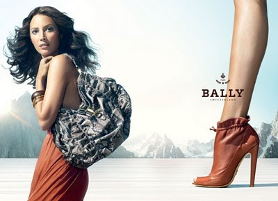 Christy Turlington for Bally