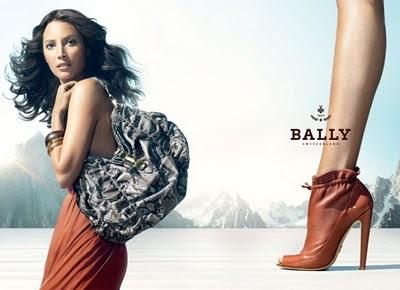Christy Turlington for Bally
