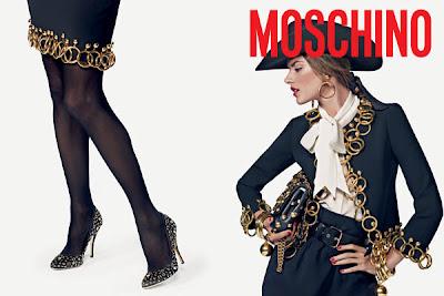 Moschino F/W 10.11 : Alessandra Ambrosio by Inez & Vinoodh