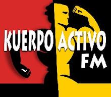 """KUERPO ACTIVO FM con Alvaro """"METAL"""" Mora  - Locutor y Productor del Programa ."""