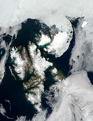 Todays Satellite picture of Svalbard