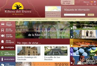 La oficina de turismo virtual de la ribera del duero 02 for Linea duero oficina virtual