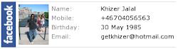 Khizer Jalal's Facebook Profile
