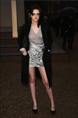 Kristen Stewart Legs on Twilightish  Kristen Stewart Legs It To London Fashion Week