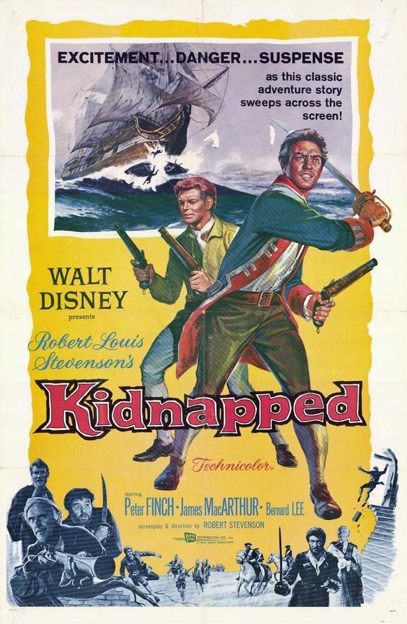 The Disney Films: Kidnapped - 1960