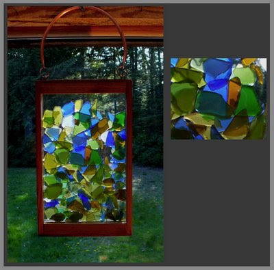 suncatcher, kaleidoscope, beach glass