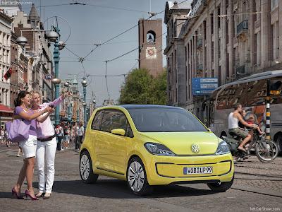 2009 Volkswagen L1 Concept. 2009 Volkswagen E-Up Concept:
