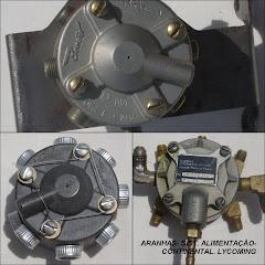 ARANHAS- SIST. COMB. LYCOMING / CONTINENTAL