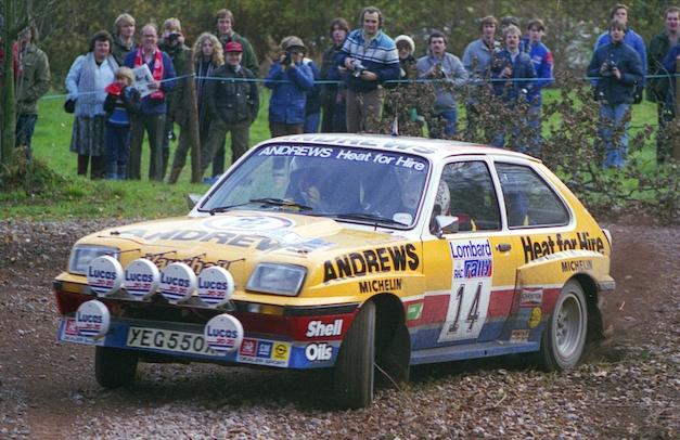 vauxhall chevette 2300 hs group 4 1976 racing cars 1983 14 rac rally 14 brookesbroad vauxhallchevettehsr ss9