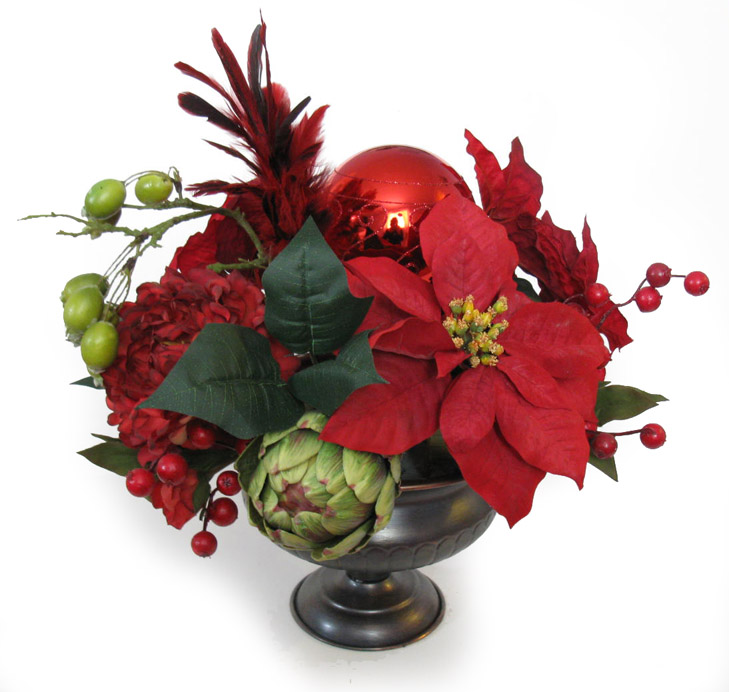 Celebrate beautifully new arrangements for Poinsettia arrangements