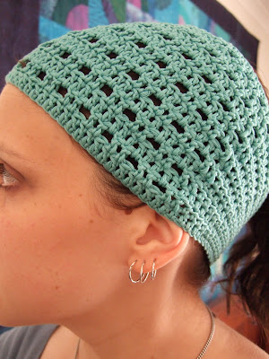 Crochet Hair Wrap : susan in stitches: Free pattern : Nadie - crochet headband / hair wrap