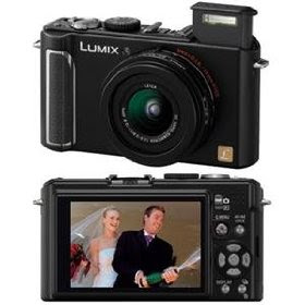 Panasonic DMC-LX3K 10.1MP Digital Camera with 2.5x Wide Angle MEGA Optical Image Stabilized Zoom (Black)