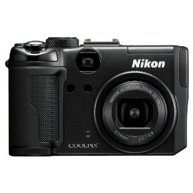 Nikon Coolpix P6000 13.5MP Digital Camera with 4x Wide Angle Optical Vibration Reduction (VR) Zoom