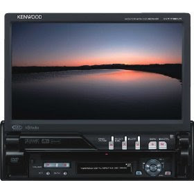 Kenwood KVT-719DVD DVD/WMA/MP3/AAC/USB/iPod Control Receiver with 7-Inch-Wide In-Dash Monitor