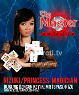 Rizuki Pemenang The Master Session 3