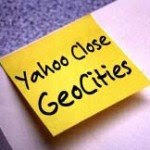 Yahoo Geocities Tutup 26 Oktober 2009
