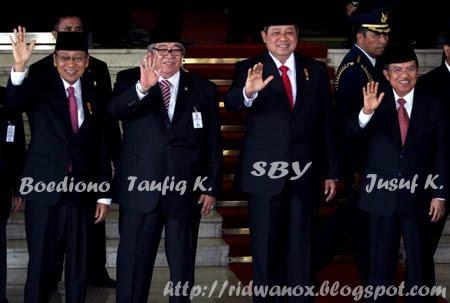 Pelantikan Presiden dan Wapres 2009-2014
