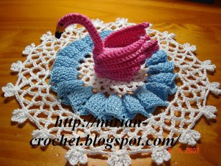 Free Swan Crochet Doily Patterns by Neil - Free Sweater Shawl