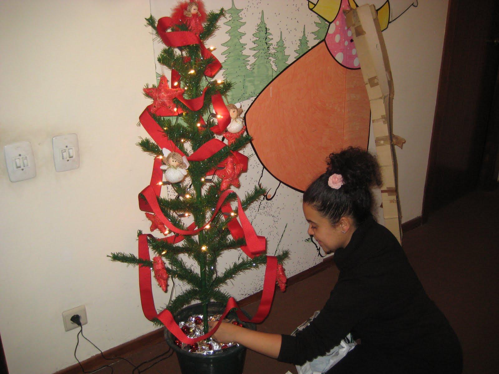 Miss trapitos el rbol de navidad - Arbol navidad casa ...