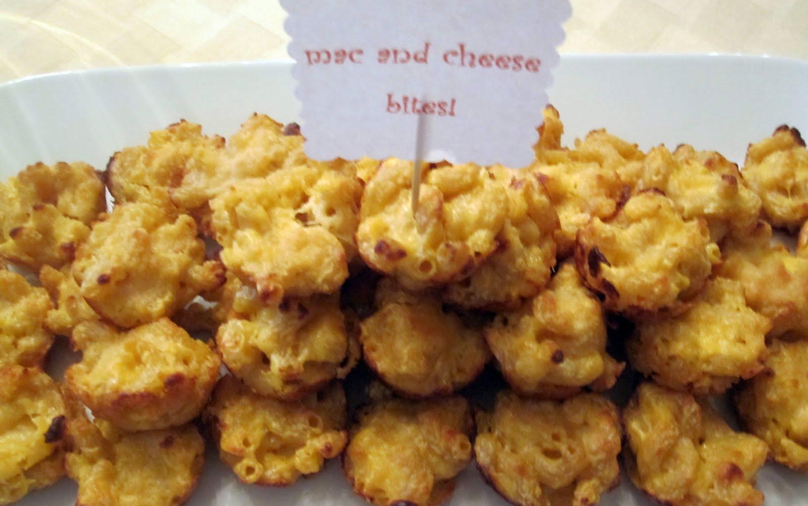mini mac and cheese bites