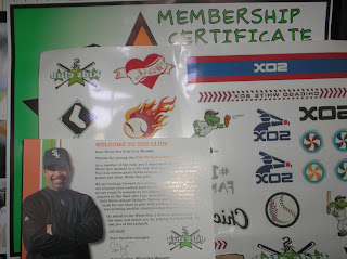 Brinde Gratis Kit   'White Sox Kids Club'