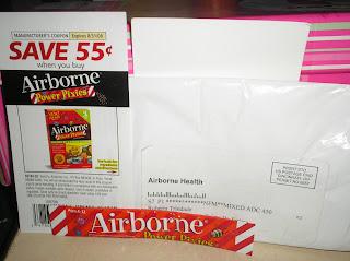 Amostra Gratis Suplemento Alimentar Airbone