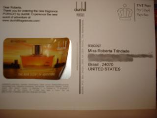Amostra Gratis Perfume 'Pursuit' de Dunhill