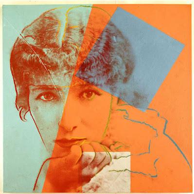 Andy Warhol - Sarah Bernhardt painting