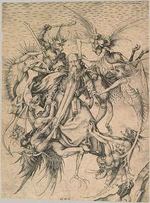 Martin Schongauer The Temptation of St Anthony