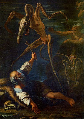 Salvator Rosa saint Anthony