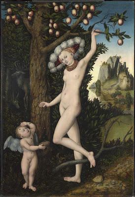 Cupid Complaining to Venus by Lucas Cranach the Elder