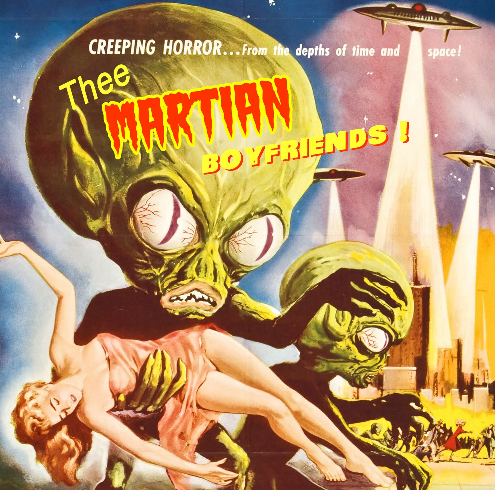 Thee MARTIAN BOYFRIENDS : out now on LOST IN TYME